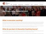 How To Become An Executive Coach – Coach Transformation Academy