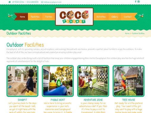 Outdoor play Centre   Cocoplaynut