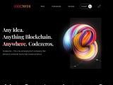 Top Blockchain Application Development Company In USA   Codezeros