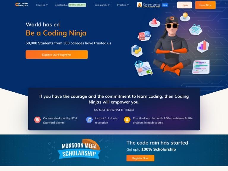 Coding Ninjas screenshot