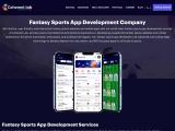 Fantasy Sports Mobile App Development Company