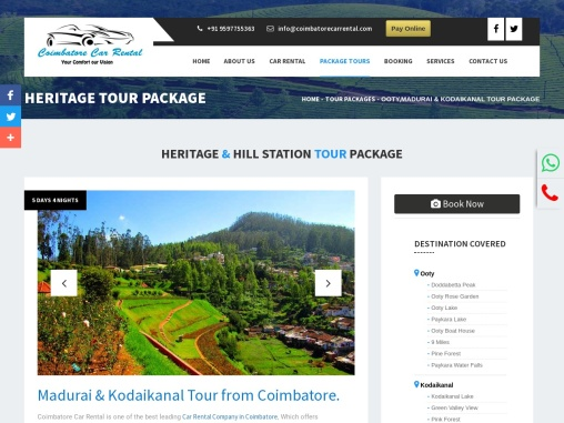 HERITAGE & HILL STATION TOUR PACKAGE