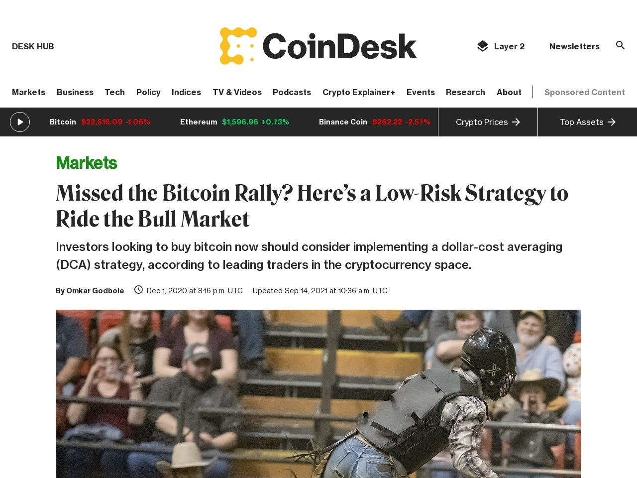 Missed the Bitcoin Rally? Here's a Low-Risk Strategy to Ride the Bull Market