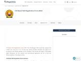 CG Board 12th Registration Form | College Disha