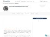 MBSE HSSLC 12th Registration Form | College Disha | MBSE HSSLC Registration Form