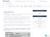 PGDCA Exam Syllabus | Download PGDCA Syllabus & Subject – Pdf