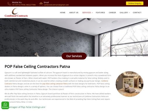 POP False Ceiling contractors patna