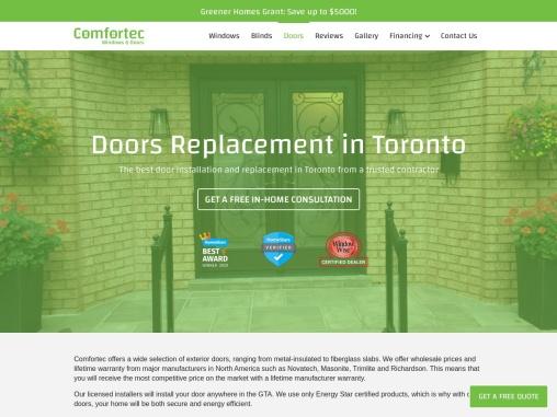 Door Installation & Replacement in Toronto