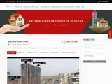 Buy Commercial office spaces and Retail shops Bhutani Alphathum in Sector 90 Noida.