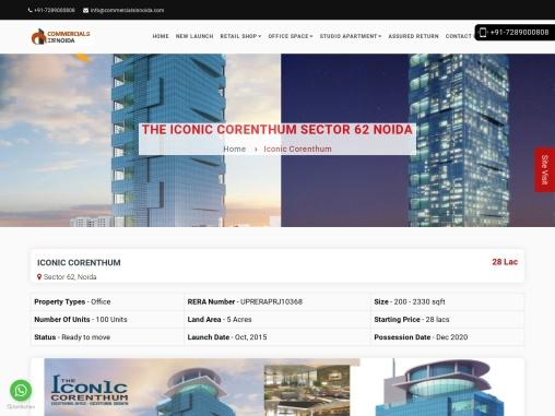 Buy The Iconic Corenthum sector 62 Noida