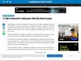11 bids received for Videocon's USD 2bn Brazil assets