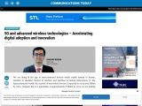 5G and advanced wireless technologies – Accelerating digital adoption and innovation