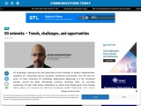 5G networks – Trends, challenges, and opportunities