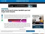 Airtel, Jio CTOs say PLI scheme, OpenRAN to grow local 5G gear vendor ecosystem