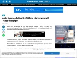 Airtel launches India's first 5G field trial network with 1Gbps throughput
