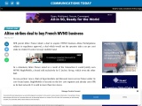 Altice strikes deal to buy French MVNO business