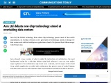 Arm Ltd debuts new chip technology aimed at overtaking data centers