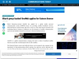 Bharti group-backed OneWeb applies for Satcom licence