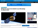 BIF bats for satcom to be included in any relief package for telecom sector