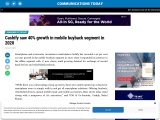 Cashify saw 40% growth in mobile buyback segment in 2020