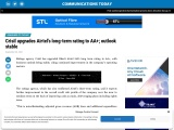 Crisil upgrades Airtel's long-term rating to AA+; outlook stable