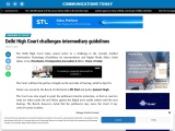 """"""" Delhi High Court challenges intermediary guidelines   """""""