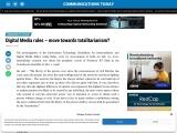 Digital Media rules – move towards totalitarianism?