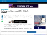 Faulty implementation wipes out OTPs, 40% traffic disrupted