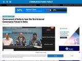 Government of India to host the first Internet Governance Forum in India