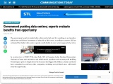 Government pushing data centres; experts evaluate benefits from opportunity