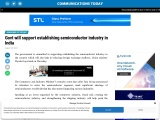 Govt will support establishing semiconductor industry in India