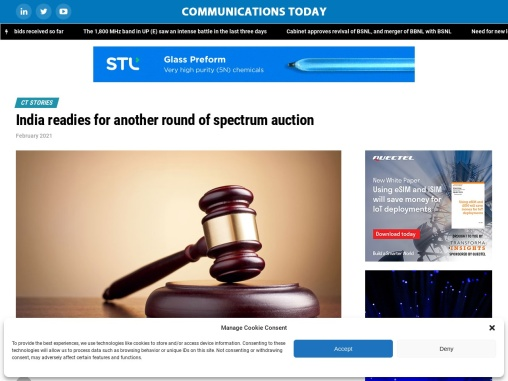 India readies for another round of spectrum auction