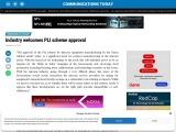 Industry welcomes PLI scheme approval