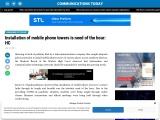 Installation of mobile phone towers is need of the hour: HC