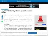 Jio, Airtel, Vi put in ₹13,475-crore deposits for spectrum auction