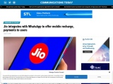 Jio integrates with WhatsApp to offer mobile recharge, payments to users