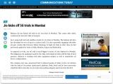 Jio kicks off 5G trials in Mumbai