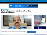 Lack of military-civil cooperation framework impeding innovation in space tech