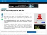 Lenovo promotes Amar Babu to APAC lead