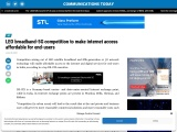LEO broadband-5G competition to make internet access affordable for end-users
