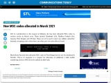 New MSC codes allocated in March 2021