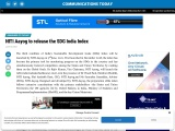 NITI Aayog to release the SDG India Index