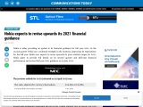 Nokia expects to revise upwards its 2021 financial guidance