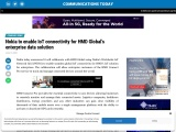 Nokia to enable IoT connectivity for HMD Global's enterprise data solution