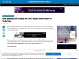 Non-payment of licence fee: DoT issues show-cause to Voda Idea