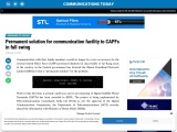 Permanent solution for communication facility to CAPFs in full swing