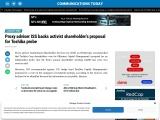 Proxy adviser ISS backs activist shareholder's proposal for Toshiba probe