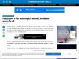 Punjab govt to fast-track digital network, broadband access for all