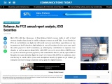 Reliance Jio FY21 annual report analysis, ICICI Securities