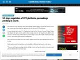 SC stays regulation of OTT platforms proceedings pending in courts